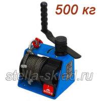 Лебедка червячная Eurolift VS500 трос 25м