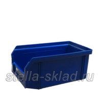 Пластиковый ящик V-1 синий