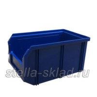 Пластиковый ящик V-2 синий