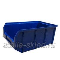 Пластиковый ящик V-3 синий