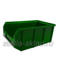 Пластиковый ящик V-3 зеленый