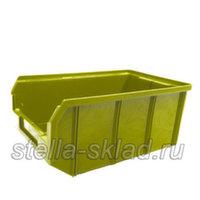 Пластиковый ящик V-3 жёлтый
