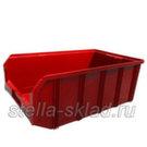 Пластиковый ящик V-4 красный