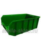 Пластиковый ящик V-4 зеленый