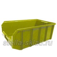 Пластиковый ящик V-4 жёлтый