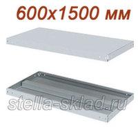Полка для стеллажа МС-140 600x1500