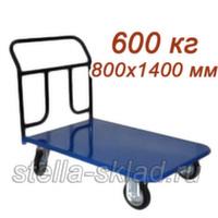 Тележка платформенная Стелла КП-600/200